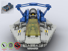 LEGO MOC - Reconnaissance Craft NLL954  - Classic Space- PDF Instructions Manual