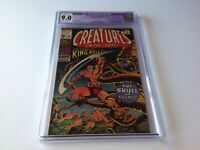 CREATURES ON THE LOOSE 10 CGC 9.0 1ST KING KULL BERNIE WRIGHTSON MARVEL COMICS