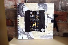 Harry Potter inspired After all this time Always, personalised photos guestbook