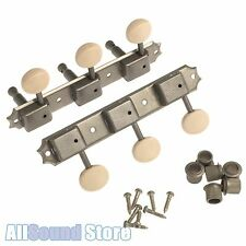 Gotoh FACTORY AGED RELIC Nickel 3x3 On a Plate DELUXE Vintage Style Tuners 3SD