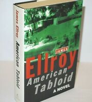 * Signed Copy * James Ellroy American Tabloid First UK Edition 1995