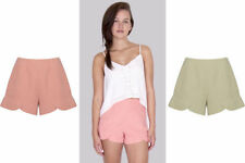 Unbranded Patternless High Rise Shorts for Women