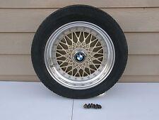 "Vintage ENKEI-BBS Style BMW 3 Piece Wheel (1) 16""x 7"" x 4 1/2"" Backspace Nice"