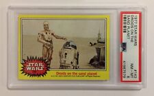 1977 TOPPS STAR WARS TRADING CARD - SERIES 3: YELLOW - #143 DROIDS ON - PSA 8