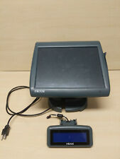 Micros Workstation 5a 15 Pos With Power Cord Stand Amp Customer Display No Os