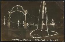 Blackpool. Princess Parade by Night.