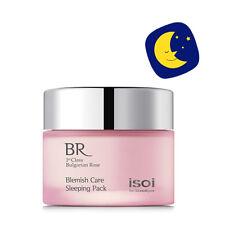 Isoi Bulgarian Rose Blemish Care Sleeping Pack 1.7oz Korea Hypoallerge Cosmetics
