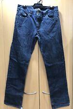 Billabong Men's Denim Blue Jeans Sz 32 *Intentionally* Frayed Hems VERY COOL!