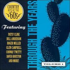 Through the Years '60s by Various Artists CD (JIM REEVES/PATSY CLINE/DAVID HOUST