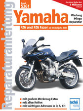 Reparaturanleitung Yamaha FZ6 / FZ6 Fazer ab 2004 Wartungshandbuch 5261