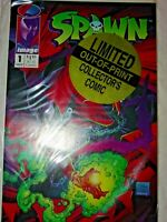 SPAWN #1 Limited Out-Of-Print Collector's Comic Pedigree Gold NEVER OPENED