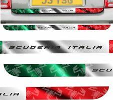 Fiat 595 / 500 Abarth Scuderia Italia lower Hatch Decals Stickers BUBBLE FREE
