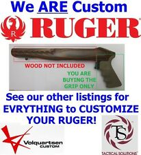 NEW DESERT TAN Hogue FINGER GROOVE Rubber Grip for RUGER CHARGER