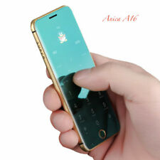 Unlocked Mini Anica A16 Dual Sim Bluetooth Sedentary Reminder Mirror MobilePhone