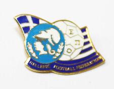 High Quality Enamel Finish Pin Badge - HELLENIC GREEK FOOTBALL FEDERATION