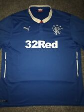Rangers Home Shirt 2014/15 3X-Large Rare