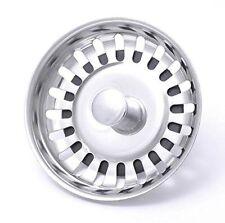ACCIAIO Inox Premium lavello Bacino Colino per Spina di rifiuti/Drainer