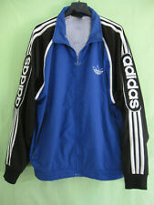 Veste Adidas Trefoil Bleu 90'S Vintage Oldschool Jacket Survetement - 174 / M