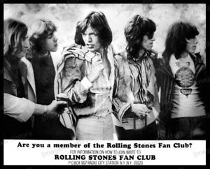 8x10 Print Mick Jagger Keith Richards The Rolling Stones  #RS72