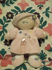 "Soft & Pretty 2003 11"" cuddly doll by Kids Preferred - can be machine washed"
