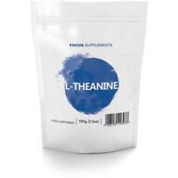 Pura Polvere Di L-Teanina (100g/500g) | Nootropico Di Potenziamento Cerebrale