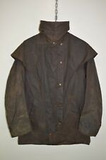 "Vintage W K Backhouse (BARBOUR) Wax Stockman Riding Hunting Jacket size 36"" XS"