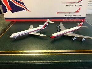 Dan-Air london  B727& B707 twin set   1/400 scale Gemini jets