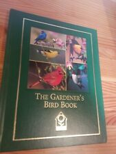 The Gardeners Bird Watching Attracting Gardening Book Identify Hardcover Garden