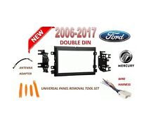 2006-2017 FORD MERCURY 2 DIN CAR STEREO INSTALL DASH KIT, WIRE HARNESS
