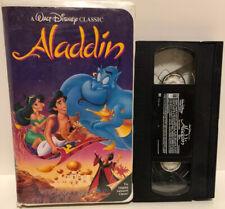VHS Walt Disney Aladdin Black Diamond Case  Rare