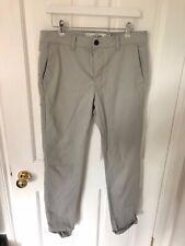 Topman Para Hombre Elastizados ajustados Chino Pantalones Negro W32 L34 Reino Unido
