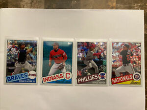 2020 Topps Series 1 Silver Pack 4-Card Lot *READ DESCRIPTION*