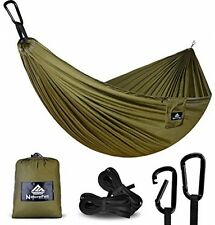 NatureFun Ultra-Light Travel Camping Hammock | 300kg Load Capacity,(300 X 140 |