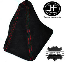 RED STITCH FITS HONDA CRV 2006-2012 GEAR GAITER REAL SUEDE SHIFT BOOT
