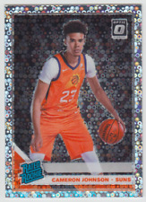 2019-20 Panini Donruss Optic Cameron Johnson Rated Rookie Silver Disco Prizm RC