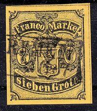Bremen 3 a , gestempelt / o / Wappen