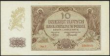 Ro.574a Besetzung Polen 10 Zlotych 1940 (1/1-)