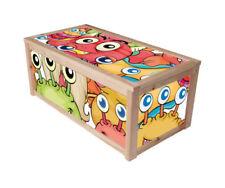 Monster Naturfarbene Spielzeugkisten und Truhen fürs Kinderzimmer