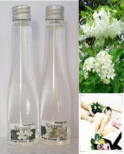 NEW SET MASSAGE OIL SPA BODY SKIN FLOWERS orange jasmine moke AROMA scent 60 ml