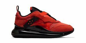 Nike Air Max 720 Slip / OBJ Trainers Sneakers Shoes Da4155-800 Team Orange/Black
