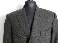 Hugo Boss Brown/Black Patterned Einstein Silk Wool Designer Blazer Jacket 42R