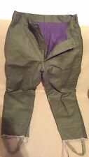 Romanian Army RSR winter padded pants Cold War NOS