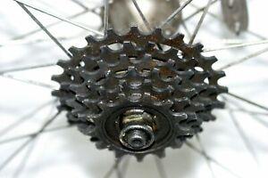 Campagnolo Arc-enCiel Rear Tubular Road Bike Wheel 20mm 128OLW Campy Hub Charity