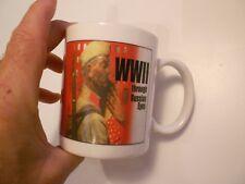 "Wwii Through Russian Eyes Mug-Vg+ Condition 3 3/4"" High"