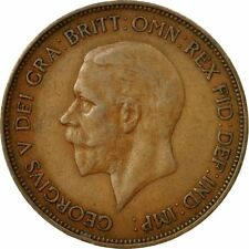[#531884] Coin, Great Britain, George V, Penny, 1935, VF(20-25), Bronze, KM:838