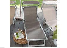 Sonnen -/Gartenliegen mit Sonnenschutz
