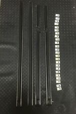HOLDEN COMMODORE VB SLE ORIGINAL COMPLETE SET OF 6 DOOR  MOULDS AND ALL CLIPS
