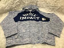 MLS New Era  Hooded Sweatshirt Montreal Impact Size L Hooded NWT Free Shipping