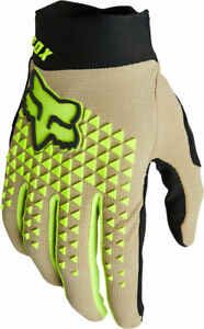 NEW Fox Racing Defend Glove - Stone Full Finger X-Large