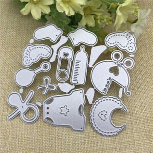 Cute Baby Suit Metal Cutting Dies DIY Scrapbooking Decorative Embossing Stencils